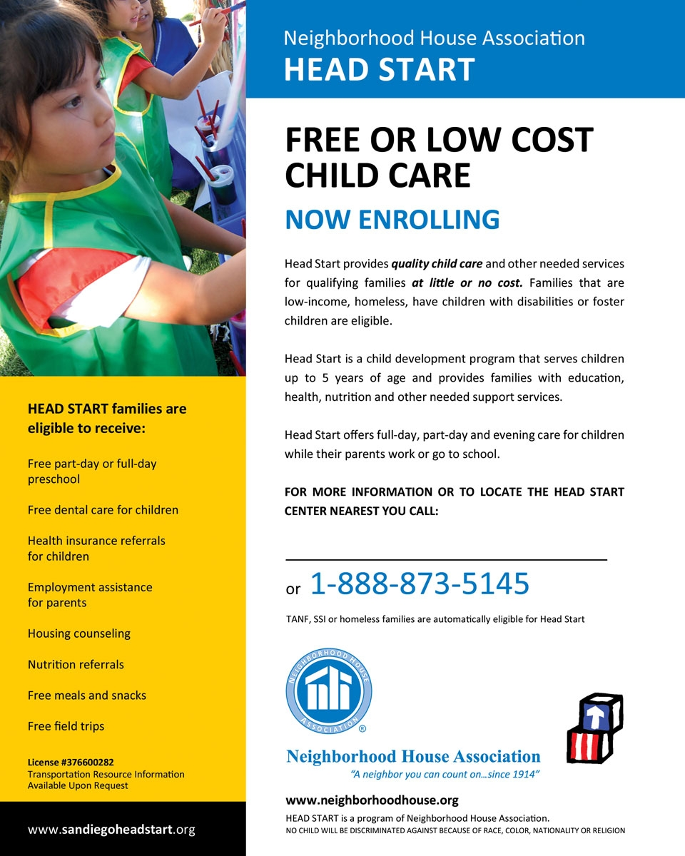 HEAD START & EARLY CHILDHOOD EDUCATION